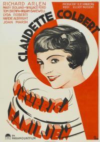 Three-Cornered Moon (1933) plakat