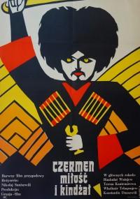 Czermen miłość i kindżał (1970) plakat