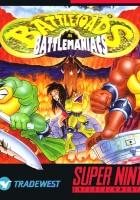 plakat - Battletoads in Battlemaniacs (1993)