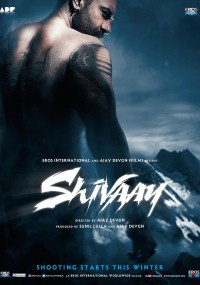 Shivaay (2016) plakat