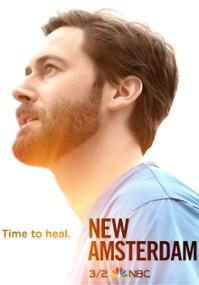 Szpital New Amsterdam (2018) plakat