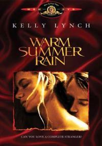 Ciepły letni deszcz