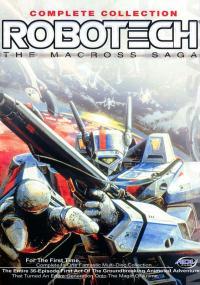 Chōjikū Yōsai Macross (1982) plakat
