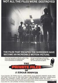Prywatne akta Hoovera (1977) plakat
