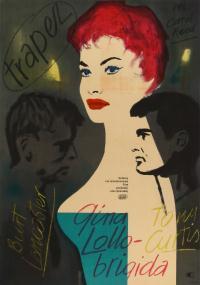 Trapez (1956) plakat