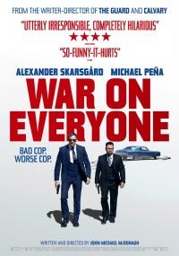 War on Everyone (2016) plakat