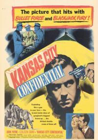 Kansas City Confidential (1952) plakat