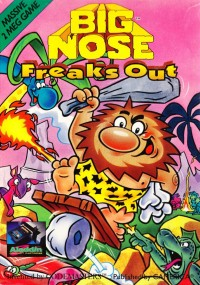 Big Nose Freaks Out (1992) plakat