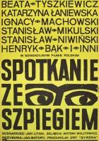 plakat - Spotkanie ze szpiegiem (1964)