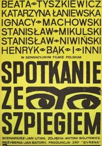 Spotkanie ze szpiegiem (1964) plakat