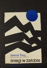 Śniegi w żałobie (1956) plakat