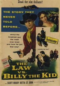 The Law vs. Billy the Kid (1954) plakat