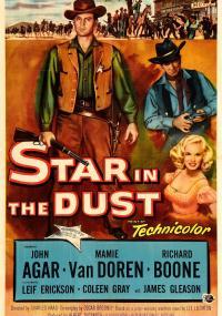 Star in the Dust (1956) plakat
