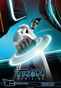 Tron: Rebelia (2012) plakat