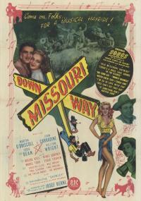 Down Missouri Way (1946) plakat