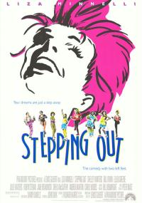 Stepping Out (1991) plakat
