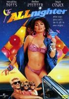 plakat - Na całą noc (1987)