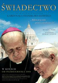 Świadectwo (2008) plakat