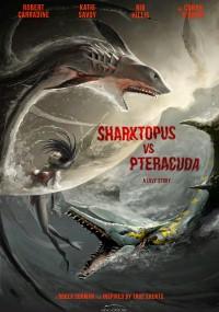 Sharktopus vs. Pteracuda (2014) plakat