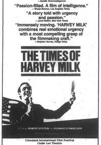 Czasy Harveya Milka (1984) plakat