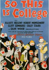 So This Is College (1929) plakat