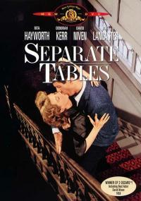 Osobne stoliki (1958) plakat