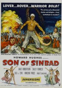 Syn Sinbada (1955) plakat