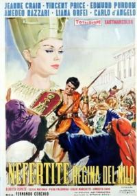 Nefretete, królowa Nilu (1961) plakat