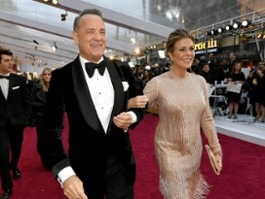 Koronawirus: Tom Hanks i Rita Wilson wrócili do USA