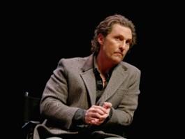 Matthew McConaughey był ofiarą przemocy seksualnej