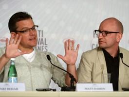 Matt Damon zrobi skok dla Stevena Soderberga