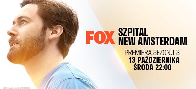 """Czy jesteś gotowy na 3 sezon serialu """"Szpital New Amsterdam""""?"""