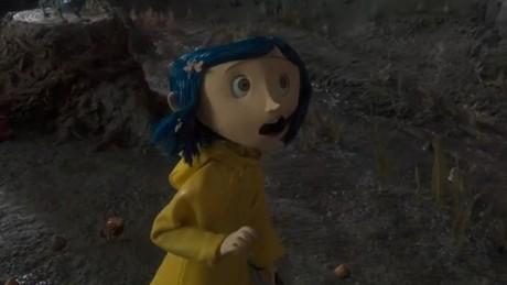 Kadr z video Koralina i tajemnicze drzwi