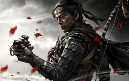 "Kadr z video Rozmawiamy z Brianem Flemingiem, producentem ""Ghost of Tsushima"""