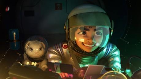 """Kadr z video Rozmawiamy z twórcą """"Wyprawy na Księżyc"""", Glenem Keane'em"""