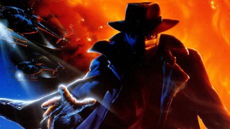 Kadr z video Człowiek ciemności