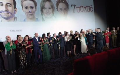 """Filmweb na premierze filmu """"7 uczuć"""""""