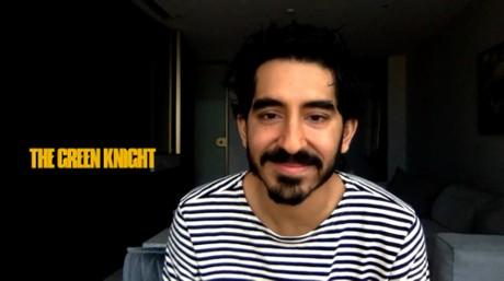 """Kadr z video Dev Patel i Joel Edgerton o pracy nad filmem """"Zielony Rycerz"""""""